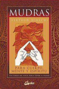 mudras (pack cartas + libro)-gertrud hirschi-9788484453482