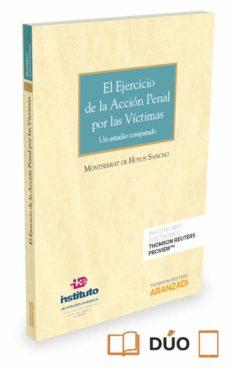 el ejercicio de la acción penal por las víctimas-montserrat de hoyos sancho-9788491354482