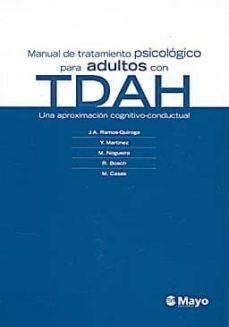 Curiouscongress.es Manual De Tratamiento Psicologico Para Adultos Con Trastorno Por Deficit De Atencion Con Hiperactividad (Tdah) Image