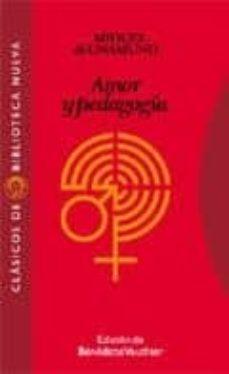 Descarga de libros en pdf en línea. AMOR Y PEDAGOGIA: EPISTOLARIO MIGUEL DE UNAMUNO, SANTIAGO VALENTI CAMP in Spanish de MIGUEL DE UNAMUNO
