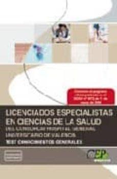 Ojpa.es Licenciados Especialistas En Ciencias De La Salud Del Consorcio Hospital General De Valencia Test Conocimientos Generales Image