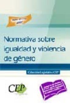 Eldeportedealbacete.es Normativa Sobre Igualdad Y Violencia De Genero. Coleccion Legisla Tiva Cep Image