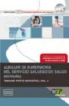 Canapacampana.it Auxiliar De Enfermeria Del Servicio Gallego De Salud (Sergas). Te Mario Parte Especifica. Volumen Ii Image