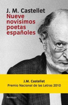 Mrnice.mx Nueve Novisimos Poetas Españoles Image