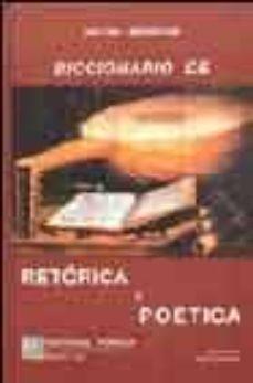 Javiercoterillo.es Diccionario De Retorica Y Poetica (8ª Ed.) Image