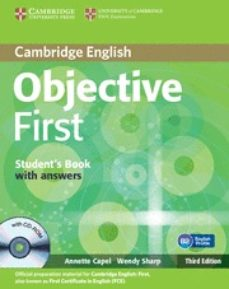 Eldeportedealbacete.es Objective First Student Book. With Answers And Cd Rom Image