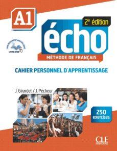 Descarga gratuita de libros de audio en zip ECHO A1 CAHIER D'APPRENTISSAGE de J. GIRARDET