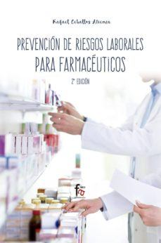 Descargando libros a ipod nano PREVENCION DE RIESGOS LABORABLES PARA FARMACEUTICOS (2ªED.) in Spanish de RAFAEL CEBALLOS ATIENZA FB2