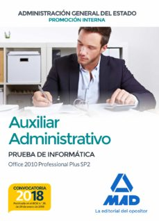 auxiliar administrativo de la administración general del estado ( promoción interna)-9788414214992