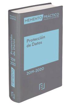 Descargar MEMENTO PROTECCION DE DATOS gratis pdf - leer online