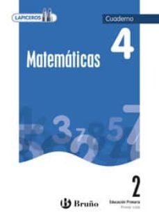 Relaismarechiaro.it Lapiceros Matemáticas 2 Cuaderno 4 (2º Primaria) Image