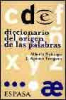 Descargar DICCIONARIO DEL ORIGEN DE LAS PALABRAS gratis pdf - leer online