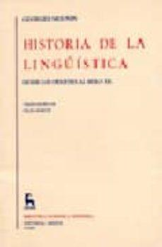 Costosdelaimpunidad.mx Historia De La Lingüistica:desde Los Origenes Al Siglo Xx Image
