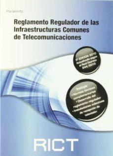 Mrnice.mx Reglamento Regulador De Las Infraestructuras Comunes De Telecomun Icaciones (Rict) (3ª Ed) Image