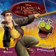 Debatecd.mx El Planeta Del Tesoro (Coloreo Con Pegatinas) Image