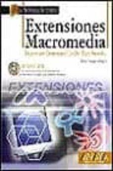 Concursopiedraspreciosas.es Extensiones Macromedia (Tecnologia Multimedia) (Incluye Cd) Image