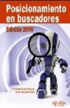 posicionamiento en buscadores (ed. 2009)-javier gosende grela-9788441525092