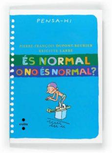 es normal o no es normal?-brigitte labbe-9788466128292