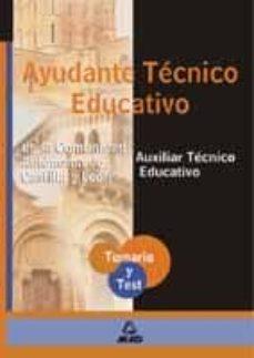 Inmaswan.es Ayudante Tecnico Educativo De Castilla Y Leon. Temario Y Test Image