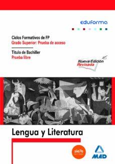 Acceso A Ciclos Formativos De Grado Superior Lengua Y Literatura Vv Aa Comprar Libro 9788466591492
