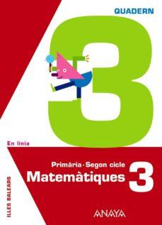 Vinisenzatrucco.it Matemàtiques 3. Quadern 3.illes Balearscatalán Image