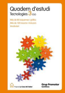 Vinisenzatrucco.it Quadern Estudi Tecnologia Ed.2011 3º Secundaria Catala Image