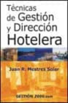 Geekmag.es Tecnicas De Gestion Y Direccion Hotelera (3ª Ed.) Image