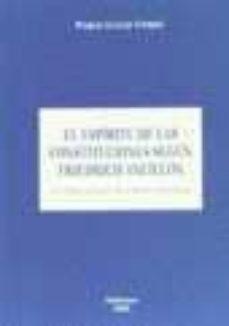 Padella.mx El Espiritu De Las Constituciones Segun Friedrich Ancillon: Una O Bra Olvidada Que Merece Recordar Image