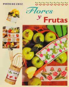 flores y frutas (punto de cruz)-9788482384092