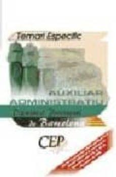 Chapultepecuno.mx Auxiliar Administratiu Diputacio Provincial De Barcelona: Temari Especific Image