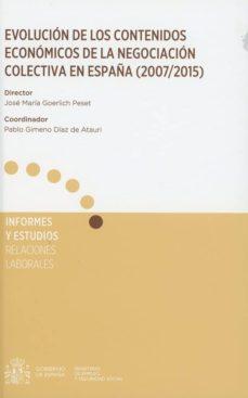 Permacultivo.es Evolución De Los Contenidos Económicos De La Negociación Colectic A En España (2007/2015) Image