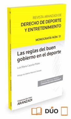 las reglas del buen gobierno en el deporte-luis maria cazorla prieto-9788491356592