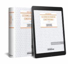 Descargar LECCIONES DE DERECHO CONSTITUCIONAL I gratis pdf - leer online