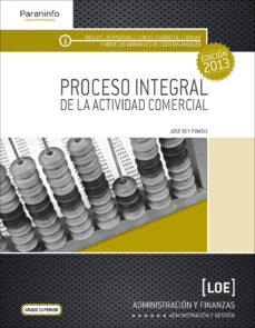 proceso integral de la actividad comercial-jose rey pompo-9788497329392