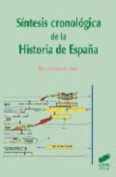 sintesis cronologica de la historia de españa-rufino encinas de lazaro-9788497560092