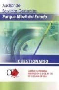 Permacultivo.es Auxiliar De Servicios Generales Parque Movil Del Estado: Cuestion Ario (Comun Y Especifico) Image