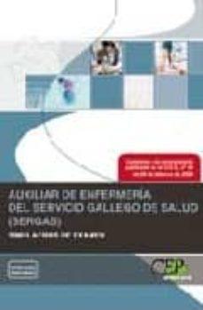 Alienazioneparentale.it Auxiliar De Enfermeria Del Servicio Gallego De Salud (Sergas). Si Mulacros De Examen Image