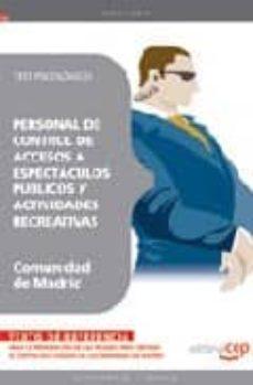Titantitan.mx Personal De Control De Accesos A Espectaculos Publicos Y Activida Des Recreativas Comunidad De Madrid: Test Psicologico Image