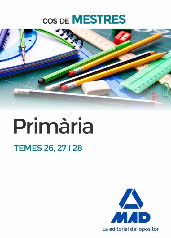 COS DE MESTRES PRIMARIA TEMES 26, 27 I 28 (edición en catalán)