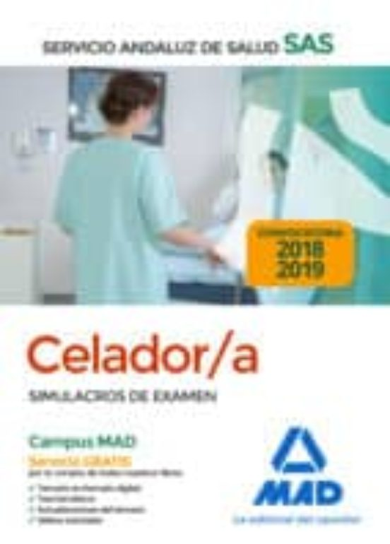 CELADOR DEL SERVICIO ANDALUZ DE SALUD. SIMULACROS DE EXAMEN