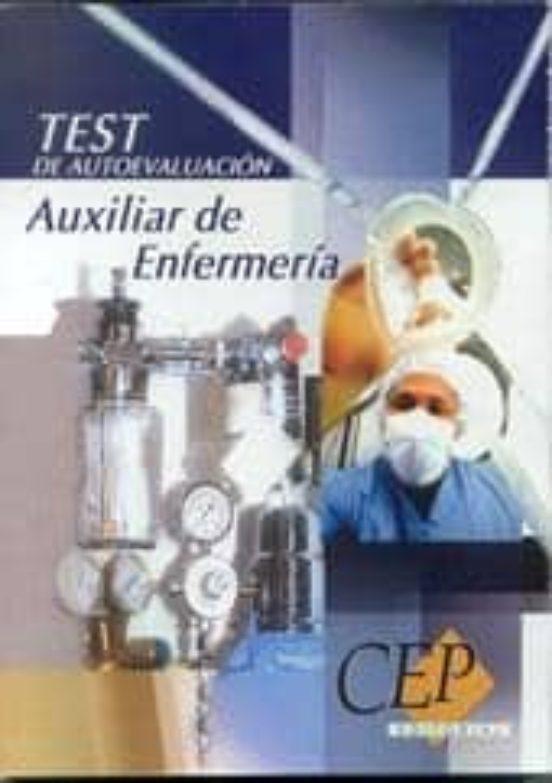 AUXILIAR DE ENFERMERIA: TEST DE AUTOEVALUACION