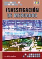 investigacion de mercados-pablo valderrey sanz-9788492650262