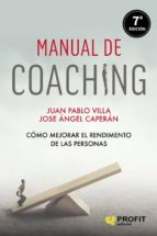 manual de coaching (ebook)-juan pablo villa-9788415330042