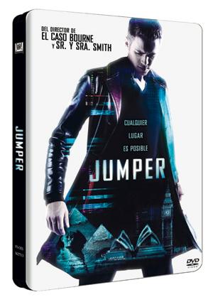 jumper (edicion metalica) (dvd)-8420266940735