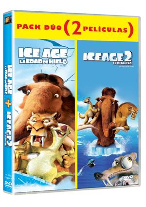 duo: ice age la edad de hielo + ice age 2 el deshielo (dvd)-8420266944016
