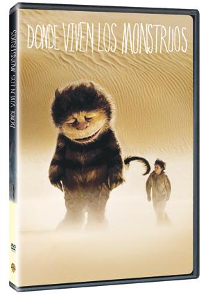 donde viven los monstruos  (dvd)-5051893025781