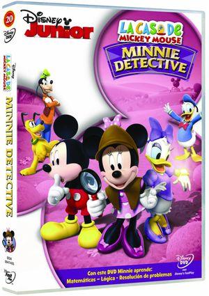 la casa de mickey mouse: minnie detective (dvd)-8717418316082