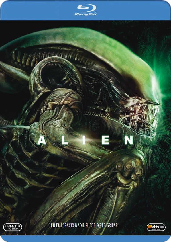 alien 1: el octavo pasajero - blu ray --8420266956491