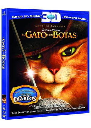 el gato con botas (2011) (con copia digital) (superset blu-ray 2d-8432975922704