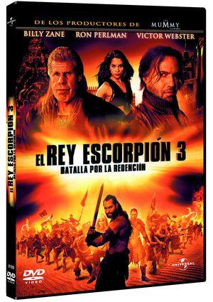 el rey escorpion 3: batalla por la redencion (dvd)-8414906813992